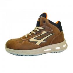 Chaussures de sécurité CARTER S3 SRC. Légère et talon compensé pour un confort parfait.