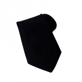 cravate serveur noire