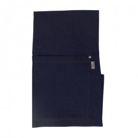 Tablier à bavette jean multi poches