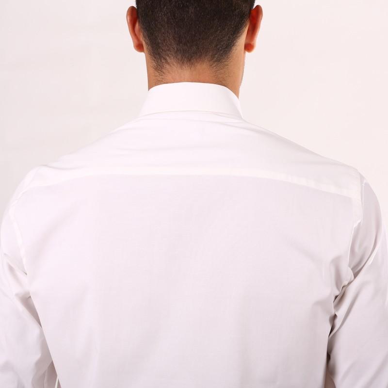 Chemise serveur blanche