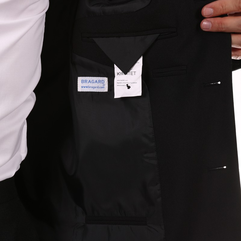 Veste de service homme noir - BRAGARD