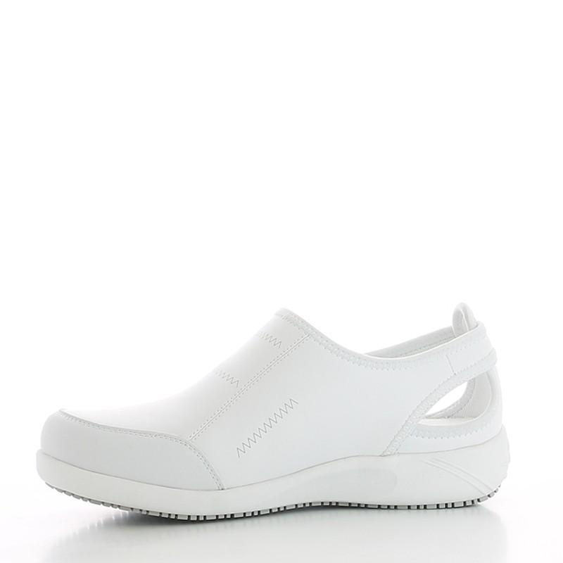 énorme réduction c08ec 91928 Lilia - Chaussures de Travail femme blanche - OXYPAS