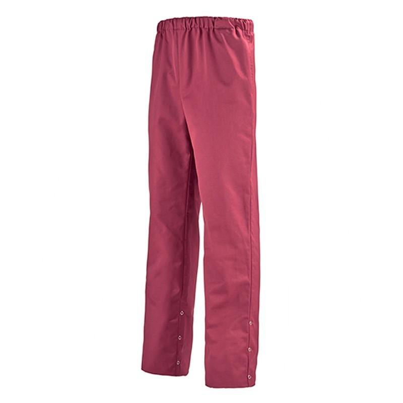 Pantalon couleur bordeaux REGLISSE