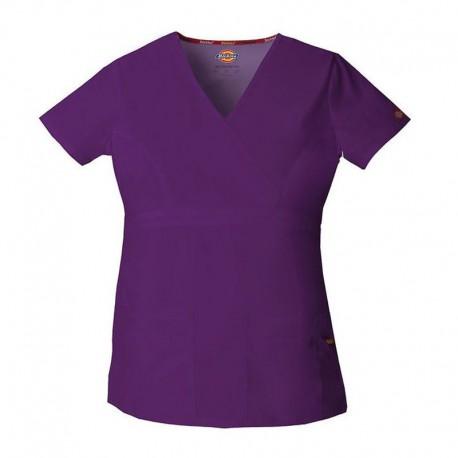Tee-shirt femme aubergine