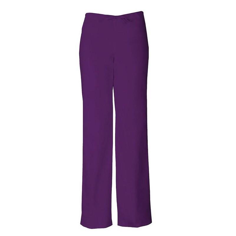 Pantalon médicale prune femme homme mixte aide soignant infirmiere promotion pas cher