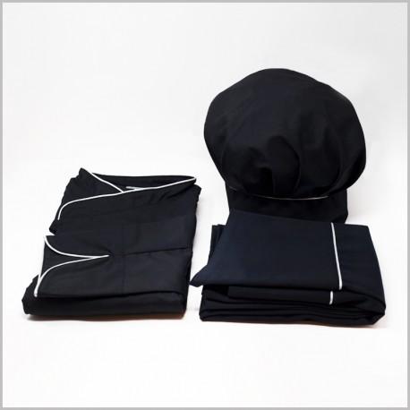 LA Box Silver Homme - Veste + Tablier + Toque