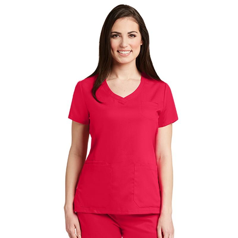 Tunique médicale femme Grey's Anatomy rouge