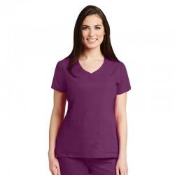 Tunique médicale femme Grey's Anatomy Aubergine