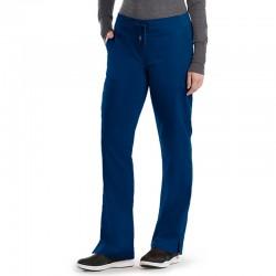 Pantalon médicale femme bleu Grey's anatomy pas cher promotion confortable infirmière aide soignante