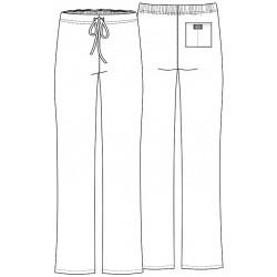 Pantalon médicale blanc DICKIES femme homme mixte aide soignant infirmiere promotion pas cher