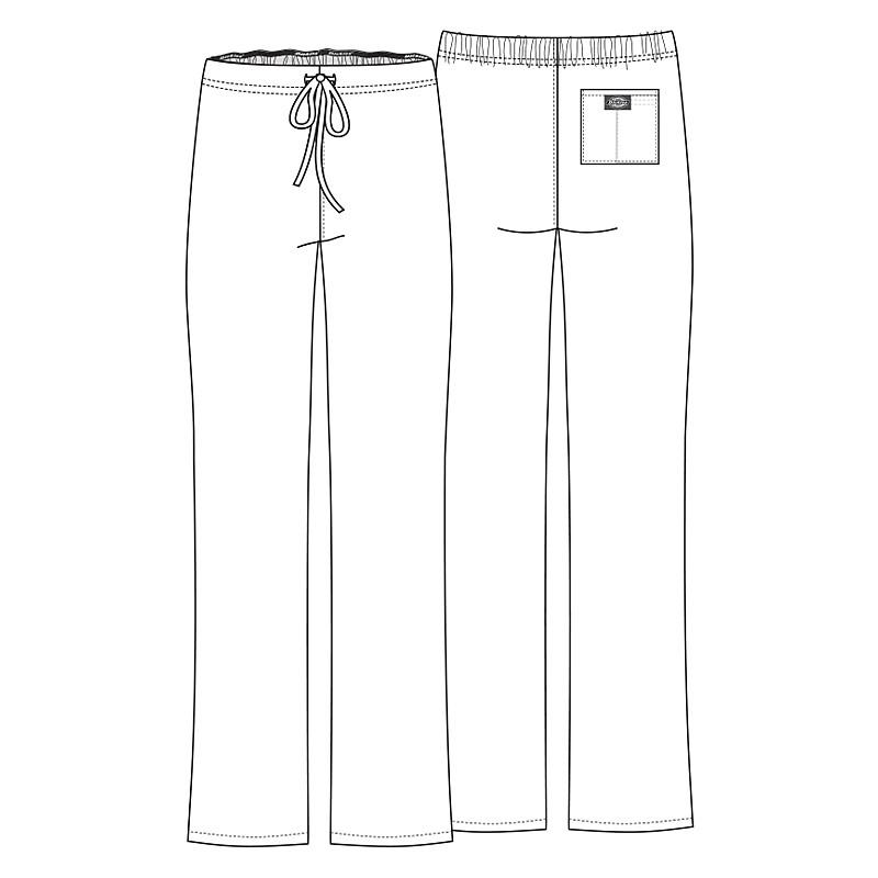 Pantalon médicale bleu marine DICKIES homme femme mixte infirmier aide-soignants hopital promotion confort