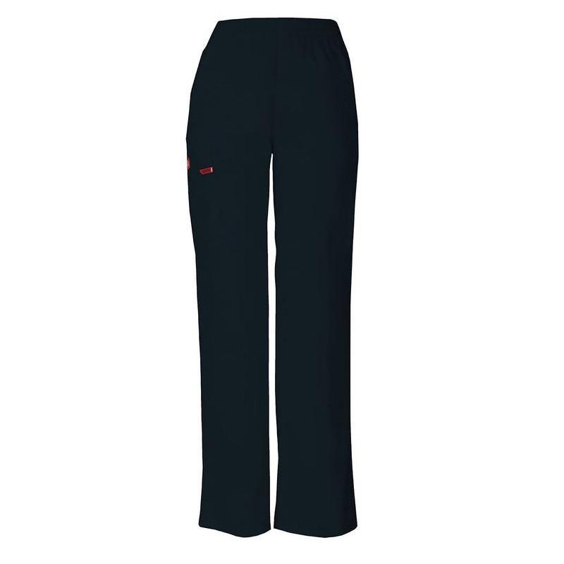 Pantalon médical ceinture élastique Dickies bleu royal femme mixte pas cher promotion confortable infirmière aide soignant