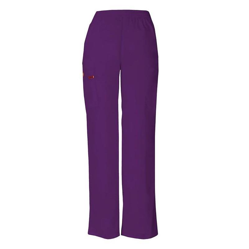 Pantalon médical ceinture élastique Dickies rose homme femme mixte pas cher promotion confortables infirmières aide soignante