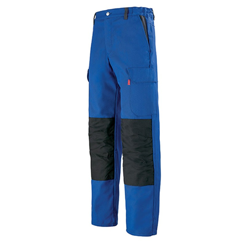 pantalon de travail lafonnt bleu como pas cher pour hommes