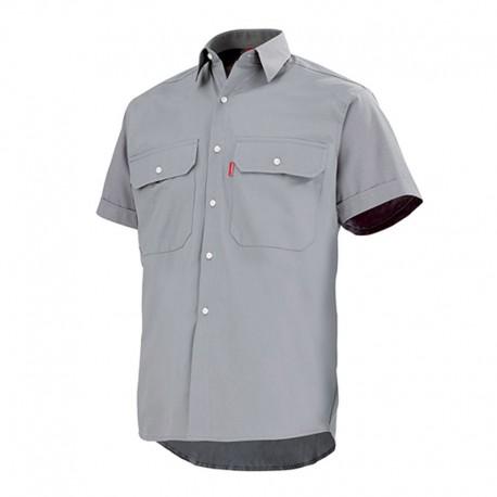 Chemise de travail lafont gris acier