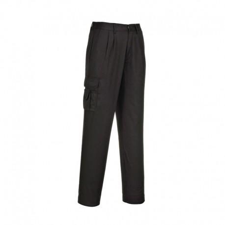 Pantalon de travail Treillis Femme noir