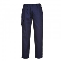Pantalon de travail Treillis Femme bleu marine