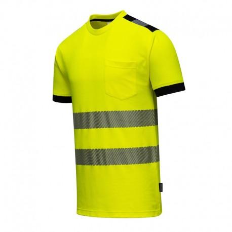 T-Shirt HV Vision Jaune