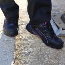 Basket de sécurité Puma femme - Stepper Wns Low - S2 idéal pour chantier ou manutention