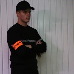 Pullover sécurité incendie noir