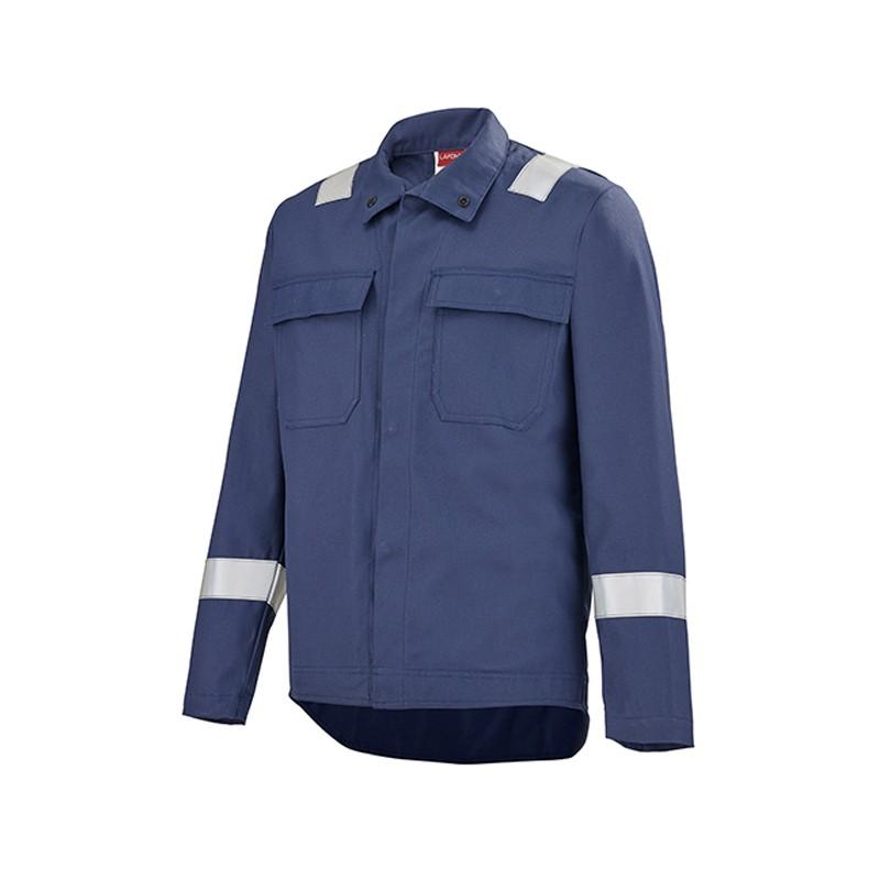 Veste de travail protection contre les produits chimiques et les charges electrostatiques MARIN 2PRTC00CP