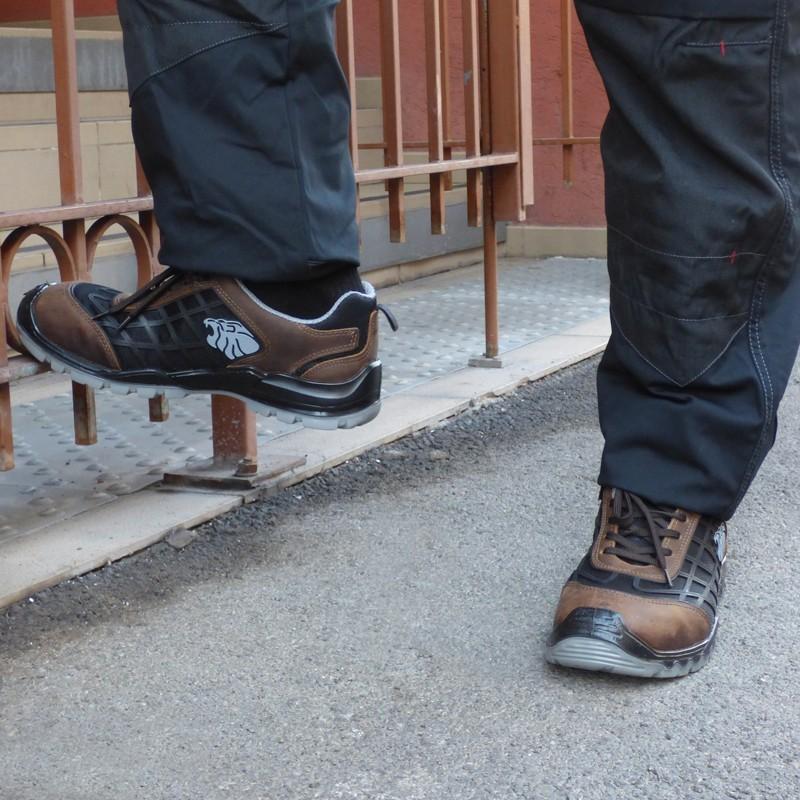 Chaussures de sécurité Torneo S3 SRC pour chantiers extérieur, imperméabilité, confort