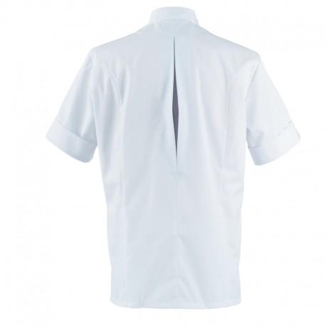 Veste de cuisine VERSANT Robur, soufflet dans le dos, confort absolu, parfait pour la saison estivale