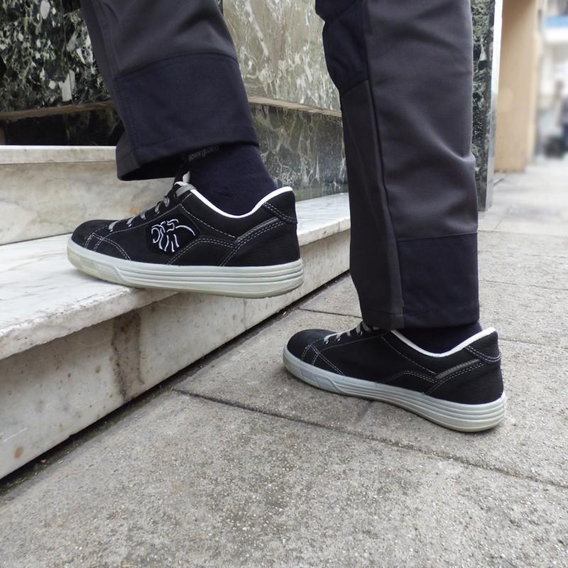 Chaussures de sécurité Amazon S3 SRC ESD. Pour métiers tels que mécanicien, déménageur, manutention.