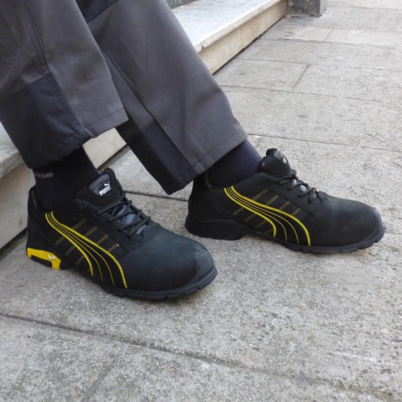 Chaussures de sécurité Puma Amsterdam S3 SRC, coque de sécurité stop les chocs