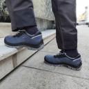 Chaussures de sécurité bleues Boss S1P SRC. Pour les metiers exterieurs et interieurs