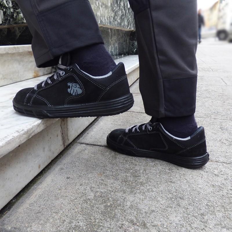 Chaussures de Sécurité Basket Gris - Norme S3. Sécurité, praticité, chaussures de sécurité confortables