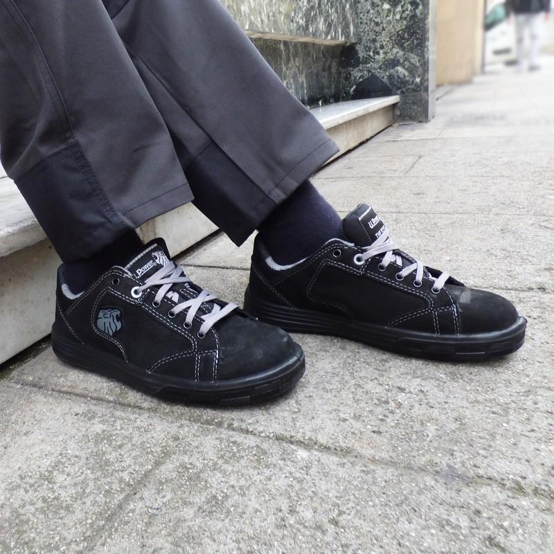 Chaussures de Sécurité Basket Gris - Norme S3 parfait en extérieur.