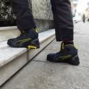 Chaussures de sécurité montantes Puma Rio S1P, manutentionnaire, magasinier, déménageur. Metiers physique