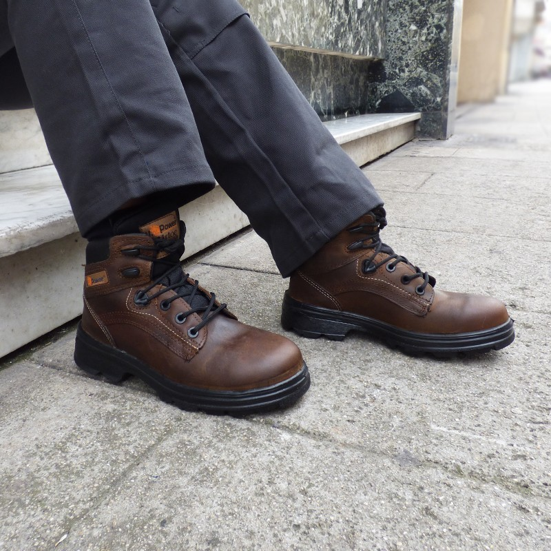 Chaussures de Sécurité Montante S3, parfait pour les chantiers, sécurité optimale
