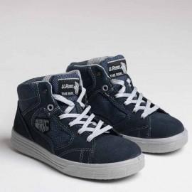 Chaussures de Sécurité Basket Montante S1P SRC, semelle antistatique, antiperforation, résiste aux huiles