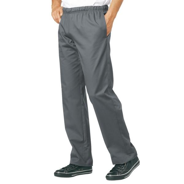 Pantaloni da cucina grigi Bragard