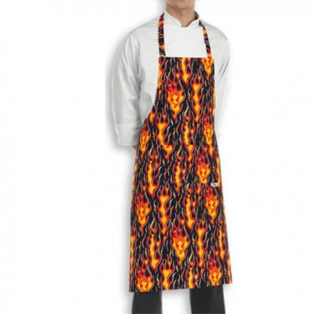 Tablier de Cuisine flammes