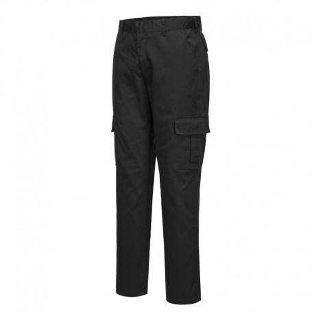 Pantalon de travail coupe ajustée slim noir PORTWEST