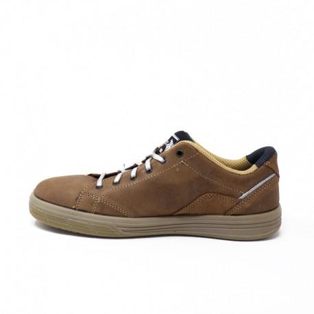 Chaussures de Sécurité Basket Beige S3 SRC, forme tendance et moderne