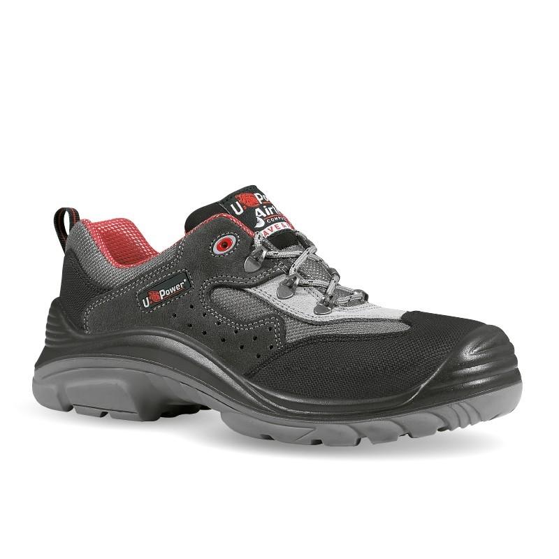 Chaussures de Sécurité homme S1P en cuir, confortables et respirantes
