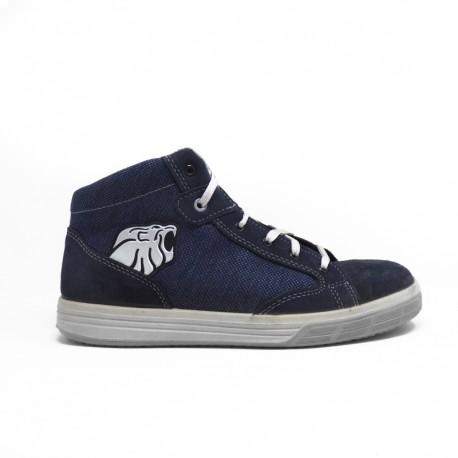 Chaussures de Sécurité Basket Montante S1P SRC, imitation denim