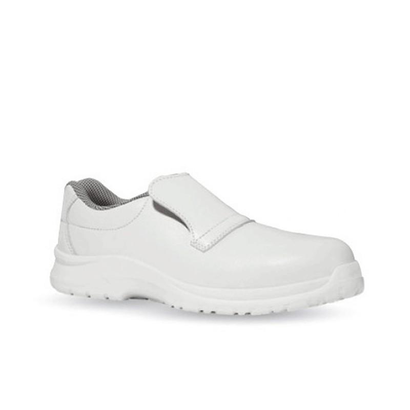 Chaussures de boulanger blanche cat s2 - Chaussure de securite blanche ...