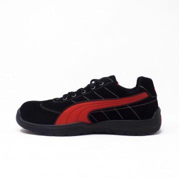 Baskets mixtes de sécurité Puma Silverstone S1P. Look moderne, aspect chaussures de ville.
