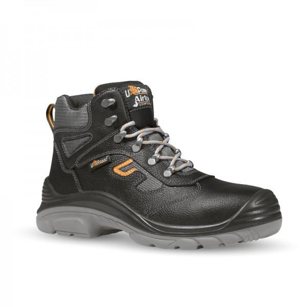 Pneumatic S3, Cheville Chaussures de Sécurité Homme, Noir (Black), 44 EUCAT