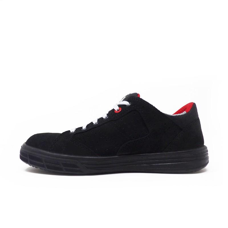 nouveau style 007b0 af93b Chaussures de Sécurité Basket Noires S1P SRC - Upower