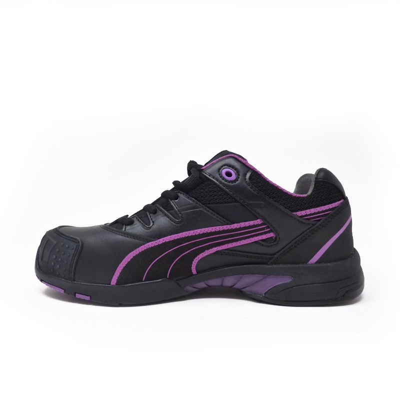 chaussure de securite femme puma stepper low basket. Black Bedroom Furniture Sets. Home Design Ideas