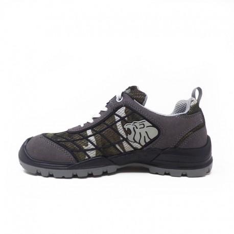 Chaussures de sécurité camouflage gris Mimetic S1P SRC