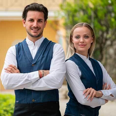 gilet de barman, gilet de serveur