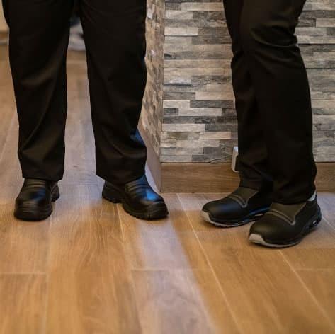 scarpe da cucina