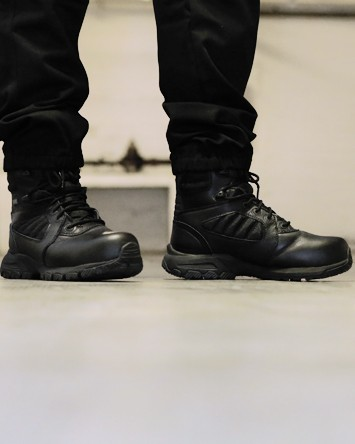 chaussure de securite agent de securite et rangers agent securite